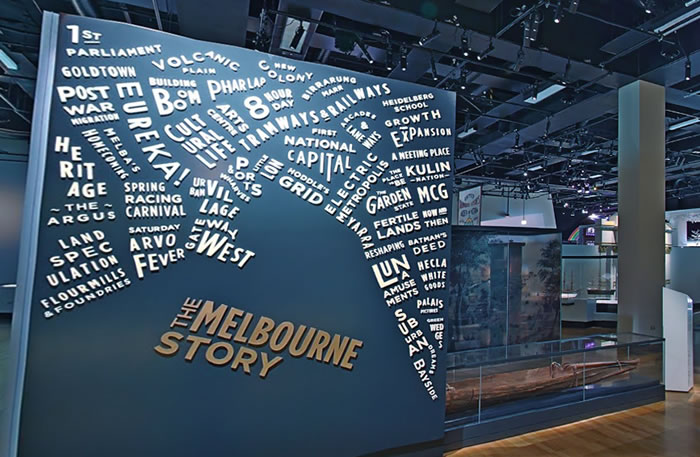 Virtual Tour: The Melbourne Story