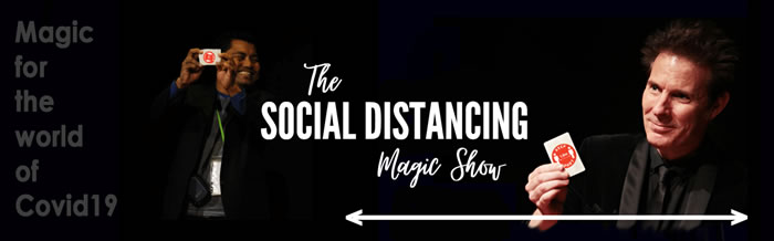 Tim Ellis: The Social Distancing Magic Show